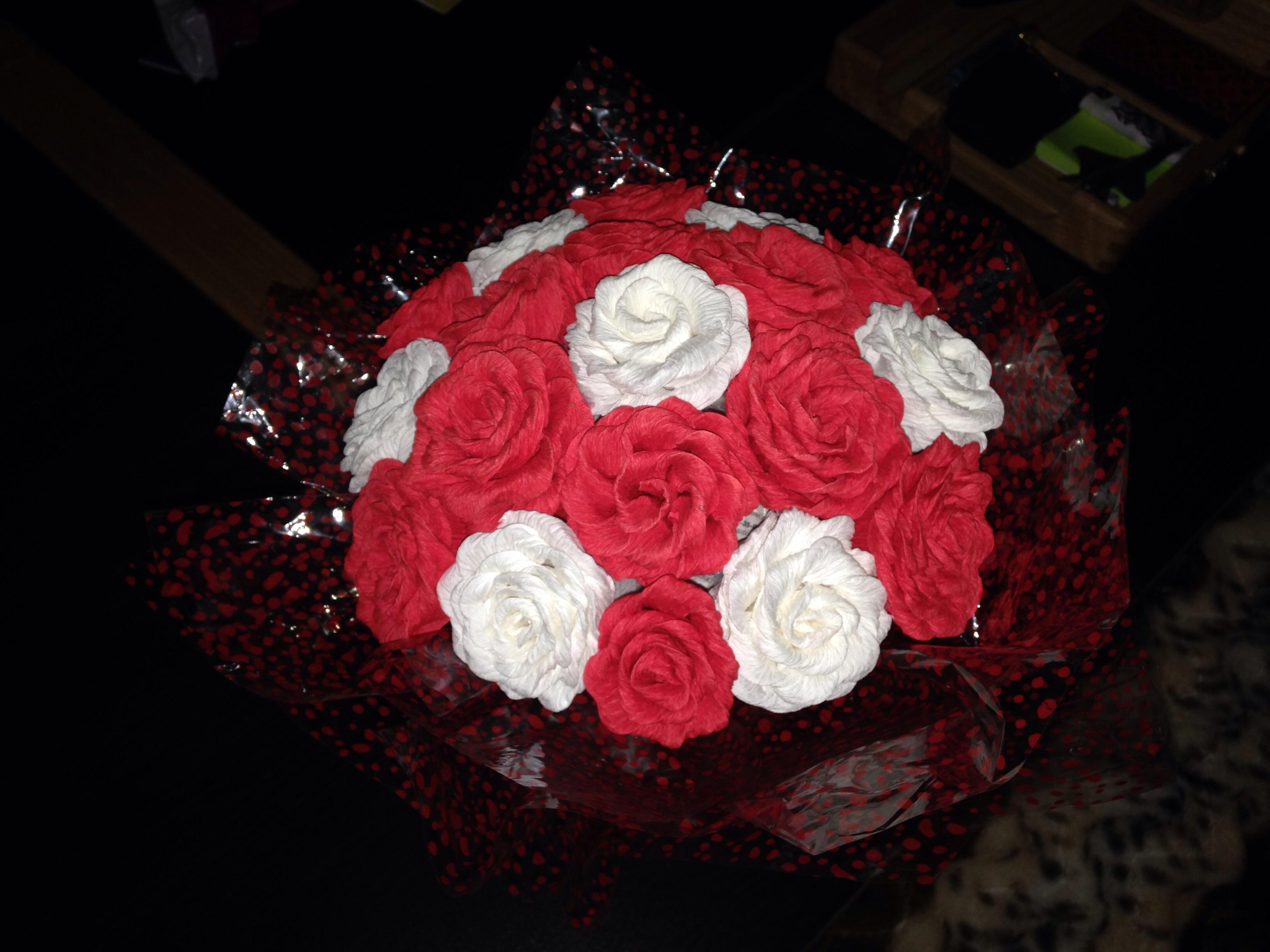 Букет цветов своими руками видео фото 436