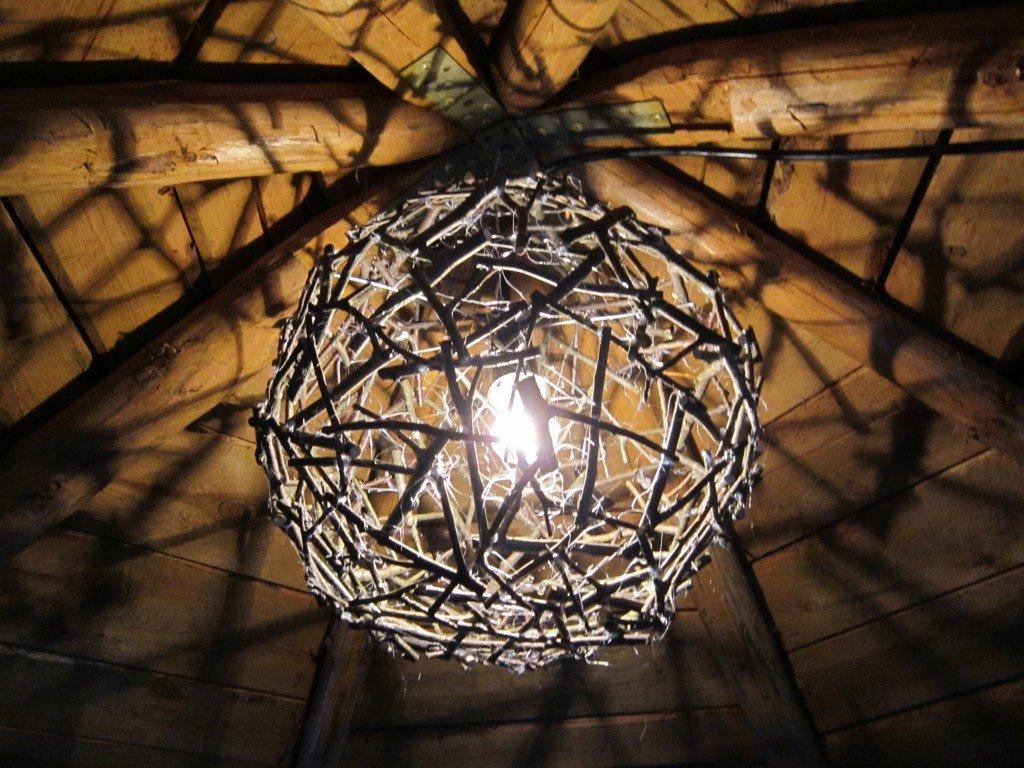 светильники люстры сваими руками поделки показать