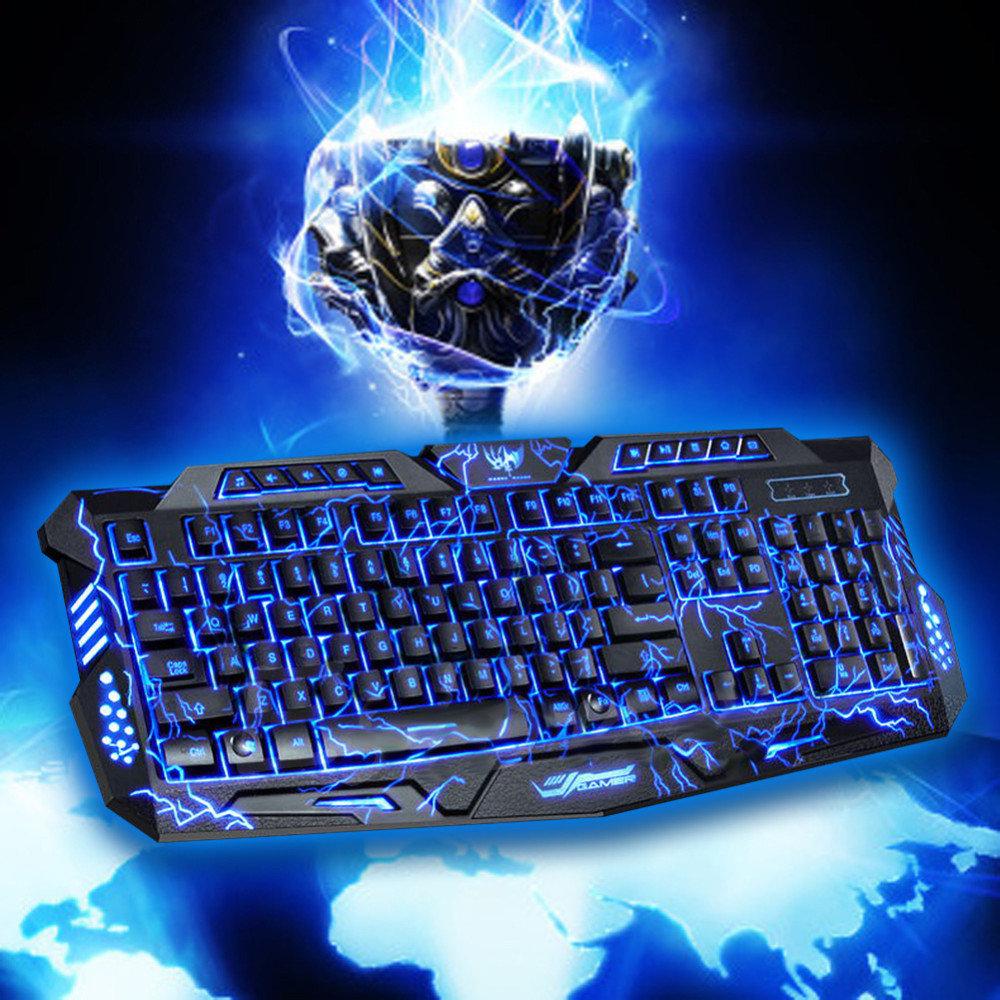 Клавиатура с подсветкой в картинках