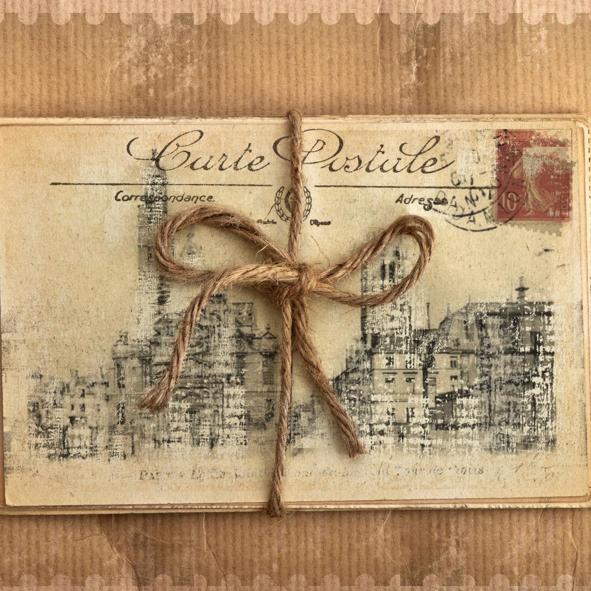 Внучкой бабушке, картинки открытки в стиле винтаж