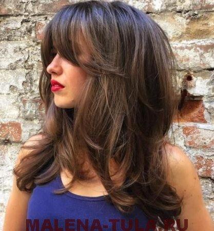 стрижки на короткие волосы с удлиненной челкой фото
