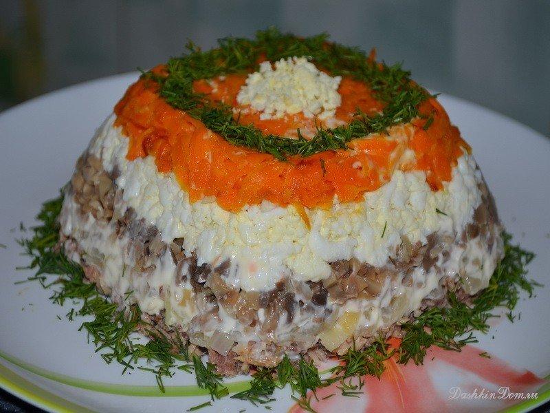 Салаты самые вкусные рецепты приготовления с фото