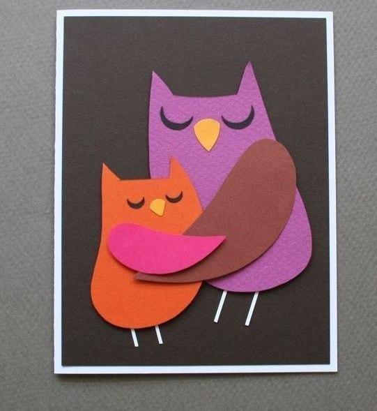 Картинки открытка своими руками ко дню матери