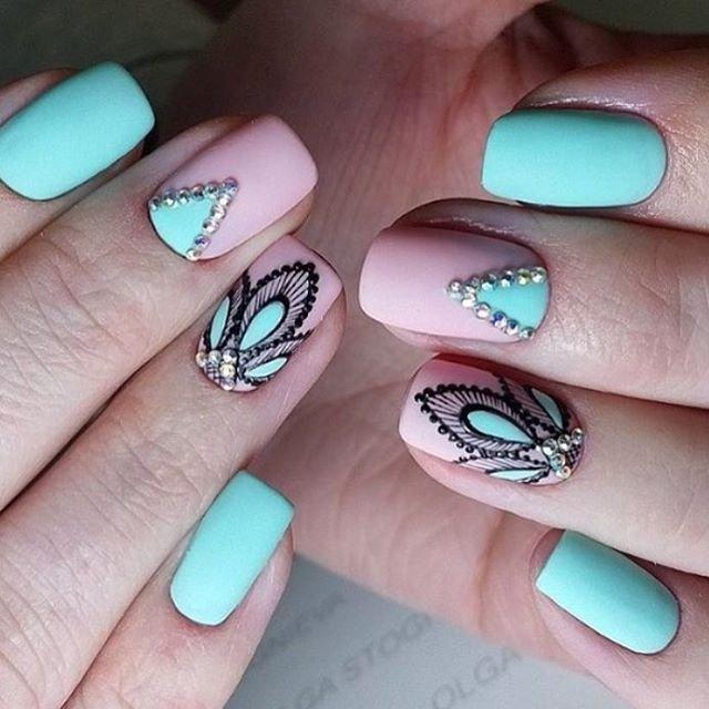 Ногти шикарные дизайн фото