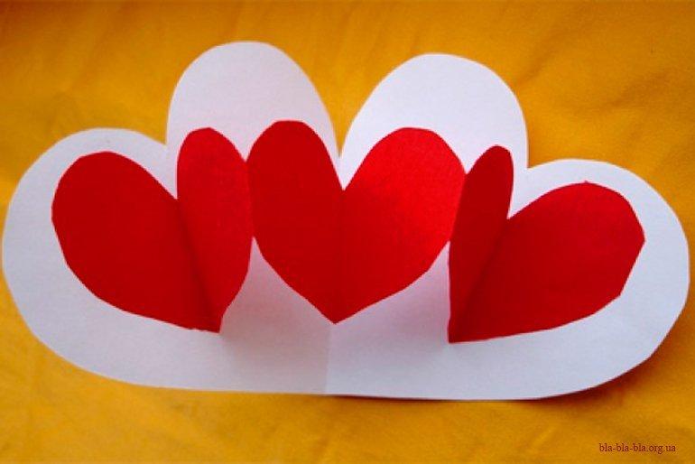 Про брак, открытка своими руками ко дню святого валентина для детей