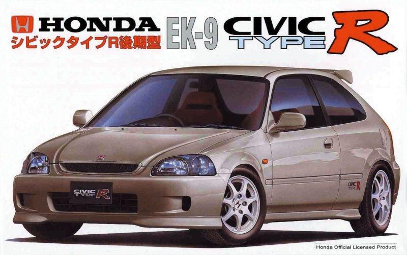 Honda Civic EK9 от Fujimi