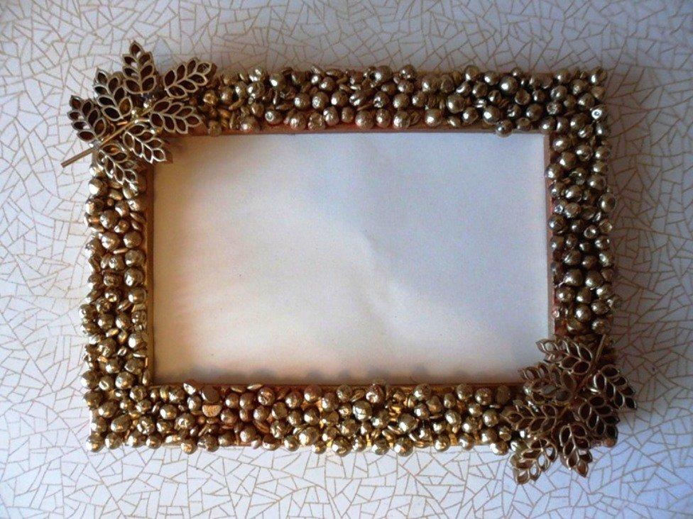 активного декорируем старое зеркало без рамки простой способ