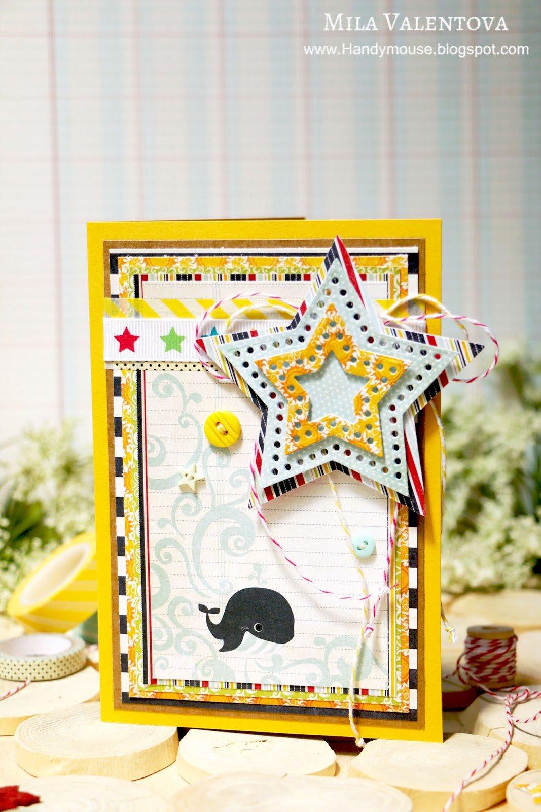 Детские открытки скрапбукинг в форме флажка, рисунки юбилеем
