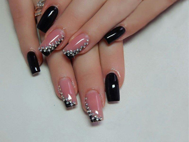 «актуальный дизайн ногтей и фото красного маникюра для.
