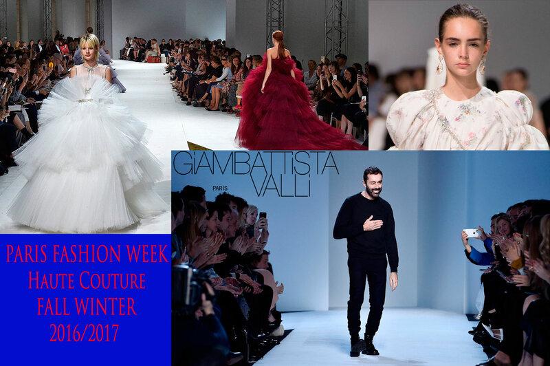 Коллекция Giambattista Valli Haute Couture Fall Winter 2016/2017 - монохромная роскошь, утончённые образы!   Новости