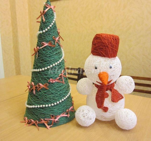 как поделку класс сделать гдз снеговик 2