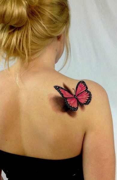 тату фото женские бабочки