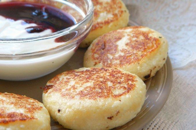 яндекс рецепт низкокалорийных сырников