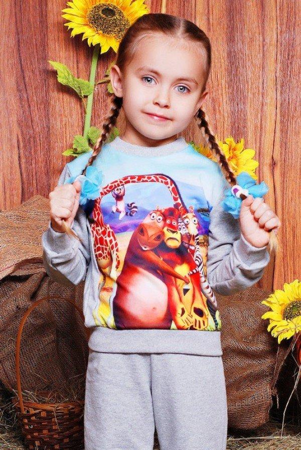 Детский свитшот жираф