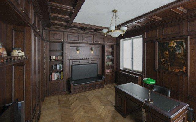 большой классический кабинет