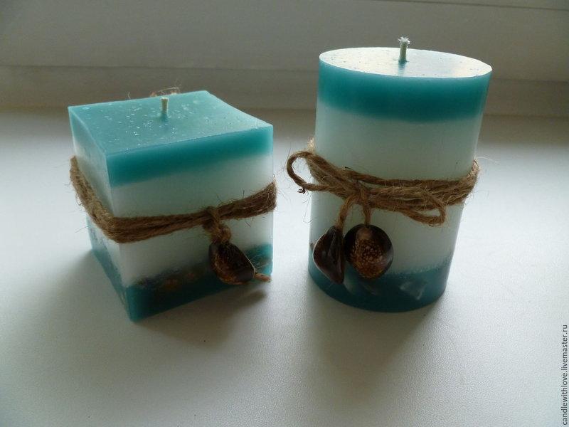 """Набор свечей """"Морской"""""""