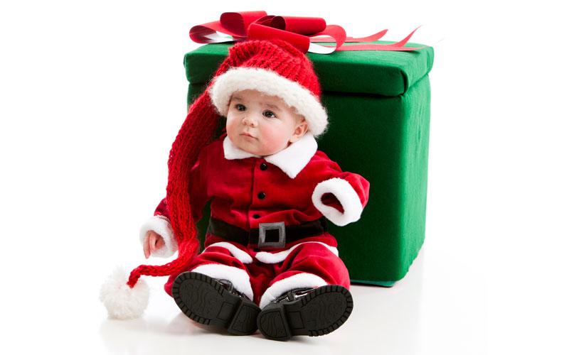 Дед Мороз и дети 14