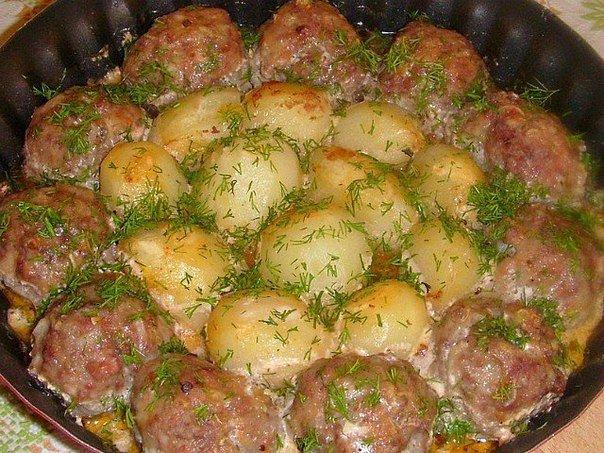 Рецепты горячих блюд с картошкой