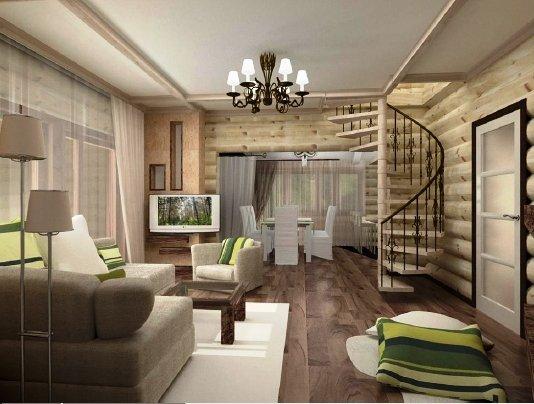 Дизайн для загородного дома