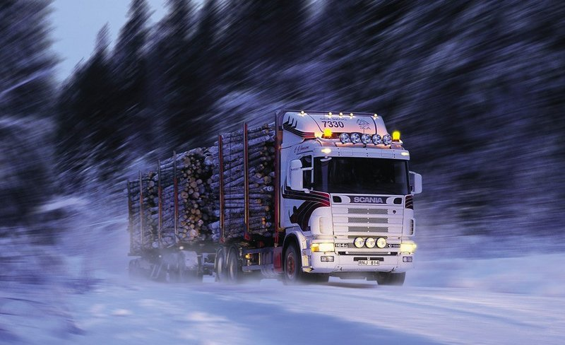 Scania R164G 480 6x4 Timber Truck