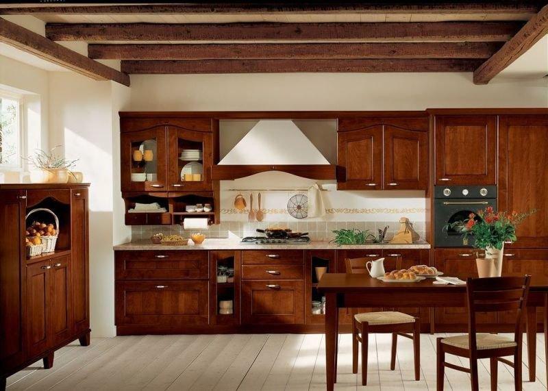 картинки кухни под дерево фото один