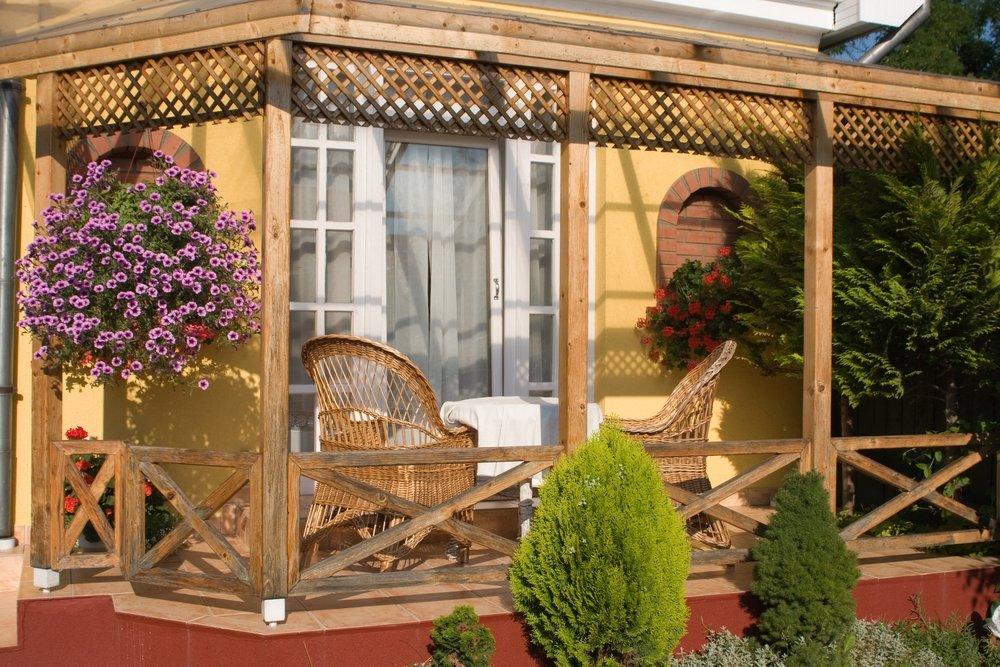 Как пристроить балкон к деревянному дому своими руками - бло.