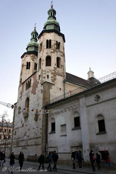 церковь святого андрея краков