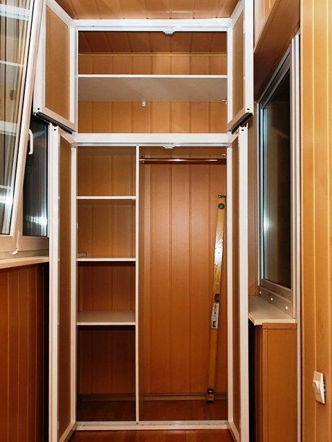 Заказать шкаф на балкон - шкафы и комоды.