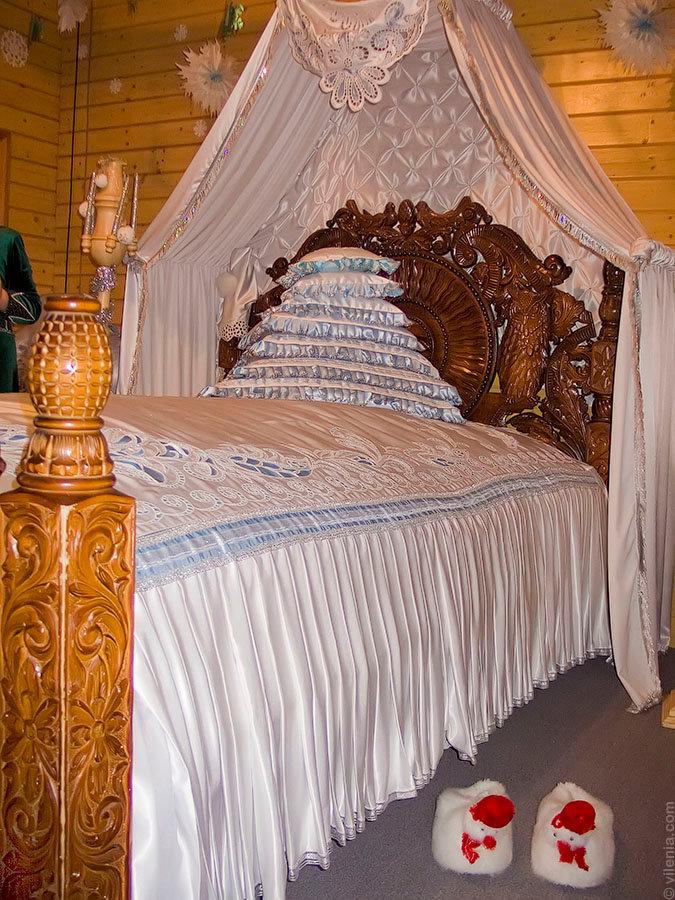 Спальня Дедушки Мороза в Великом Устюге