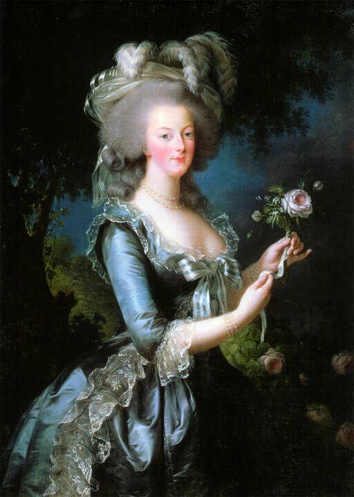 проявление картинки французская королева предмет