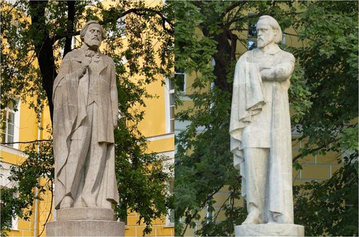 19 января 1920 года состоялась закладка памятника Герцену и Огареву