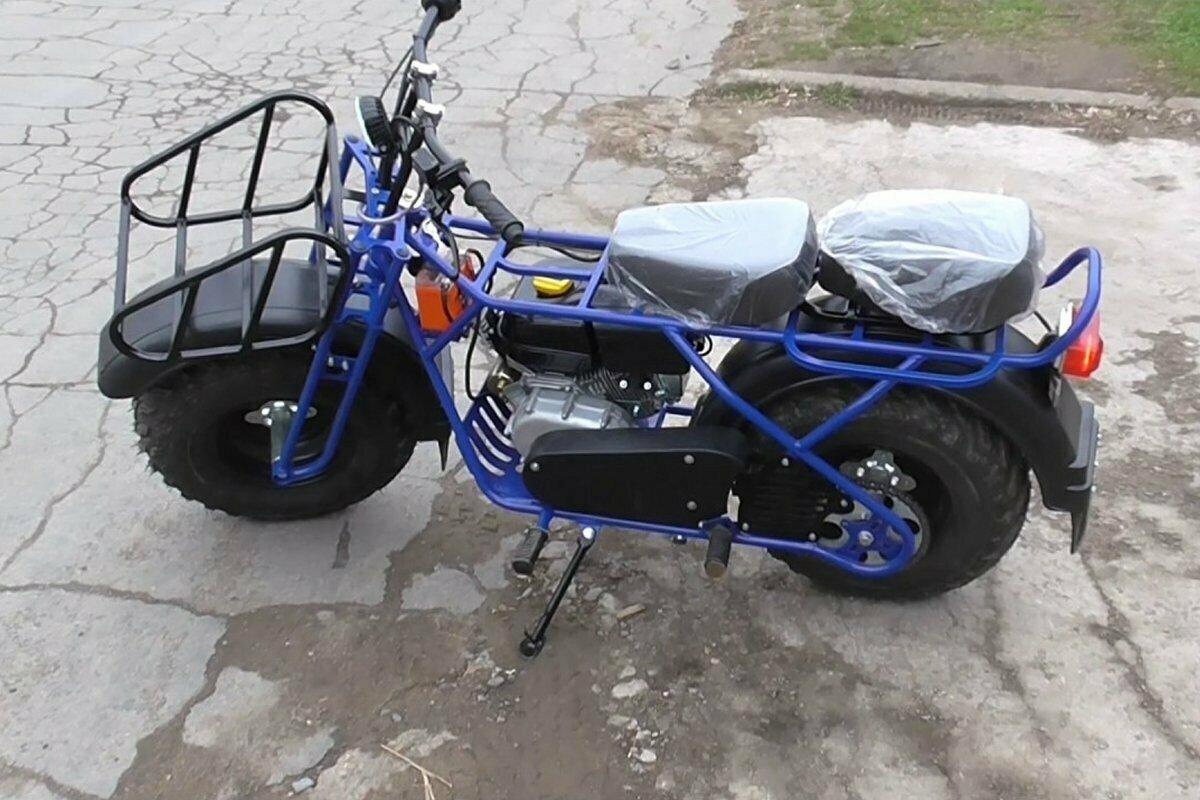 Мотоцикл внедорожный Скаут