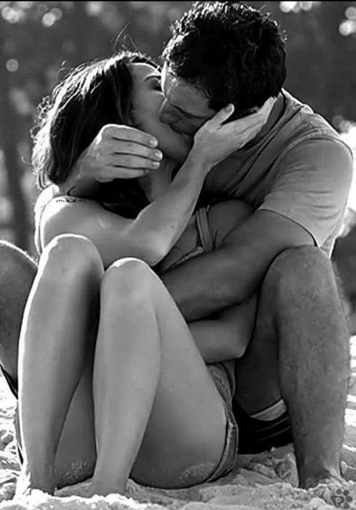 Картинки парень и девушка целуются с надписями