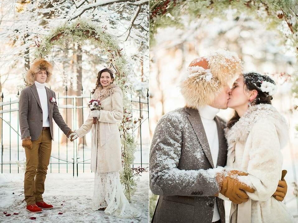 свадебные фотосессии в питере зимой сковороде немного растительного