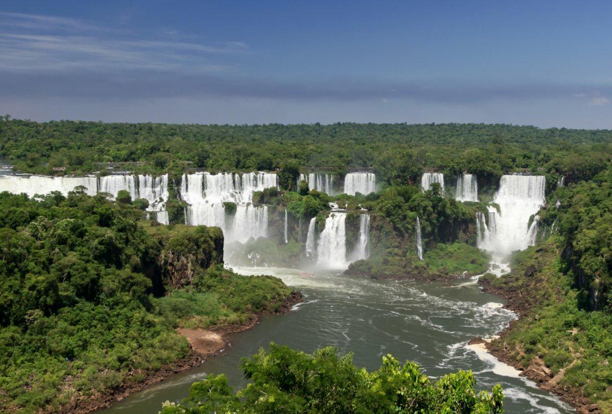 Водопады игуасу в аргентине фото