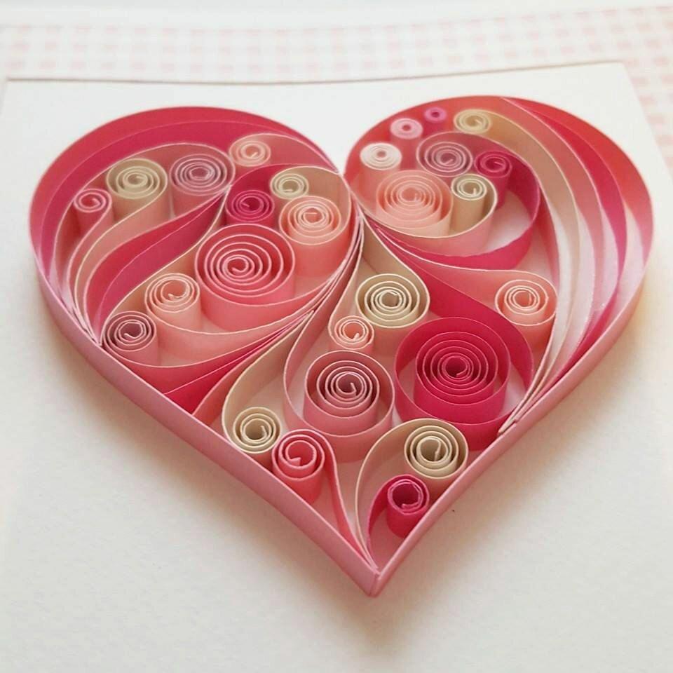 открытки квиллинг сердце привыкли часто мыть