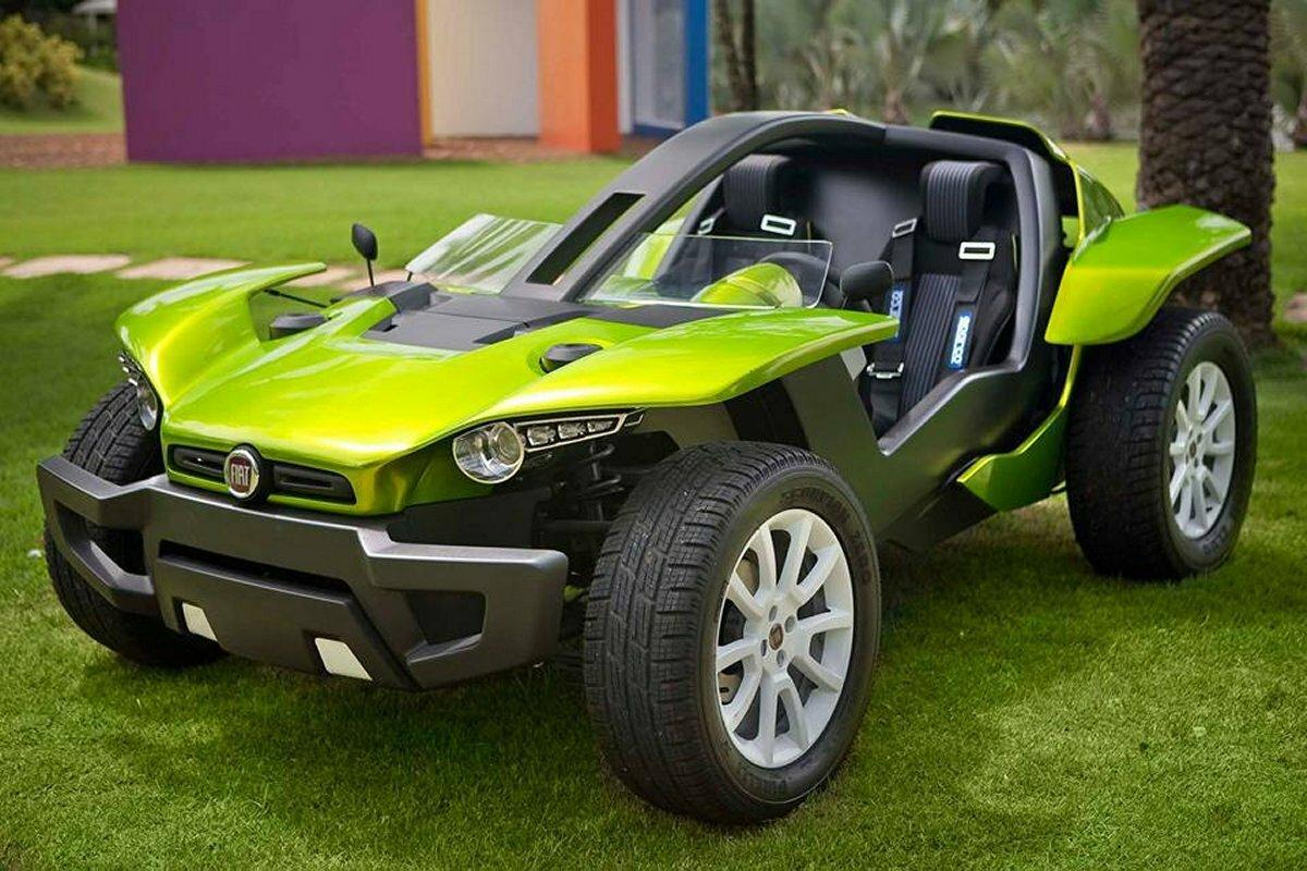 Fiat FCC II Bugster – электрическая жаба