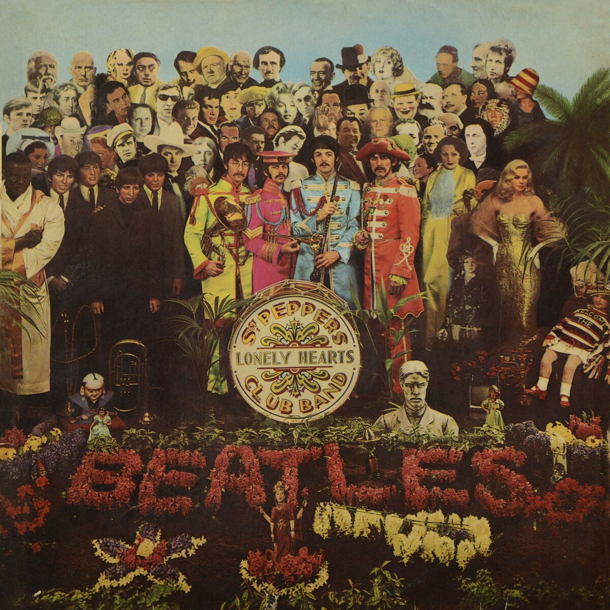 The Beatles — Sgt. Pepper's Lonely Hearts Club Band,1967 год, слушать онлайн, скачать альбом в mp3