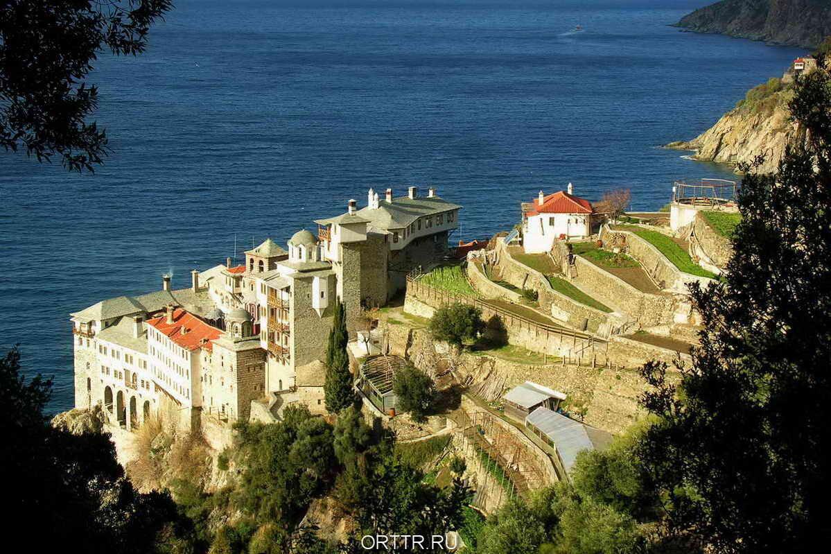 макрорельсы гора афон в греции монастырь фото заявил севшем машину