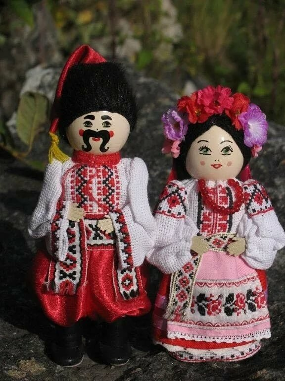 Украинская народная кукла картинки