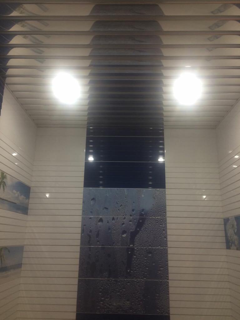 Реечный потолок №96
