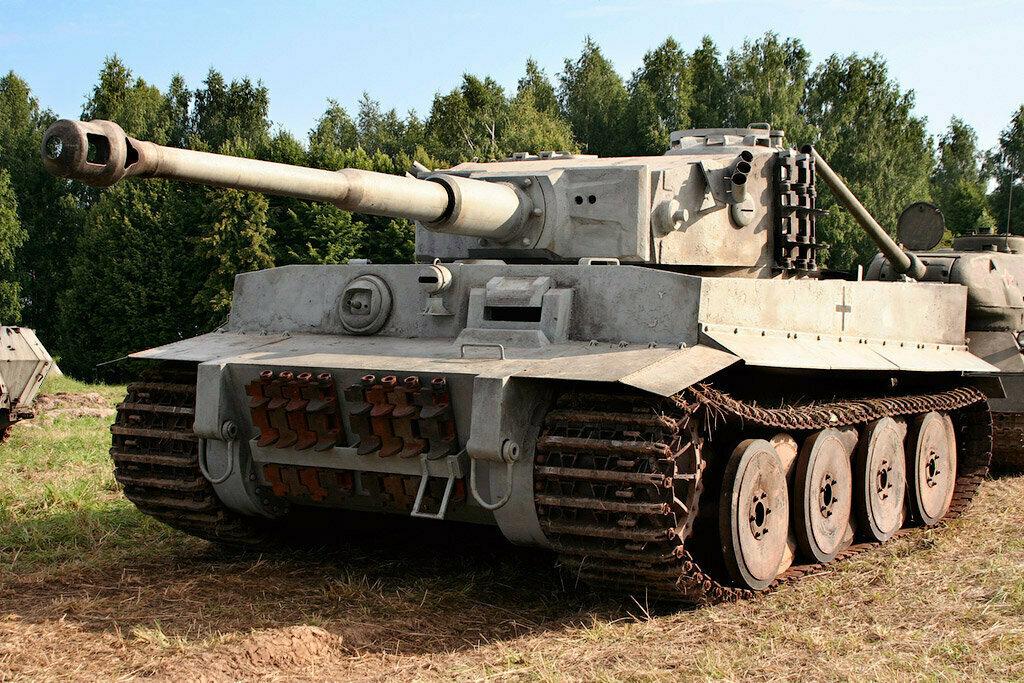 картинки танка тигр со всех сторон опытные