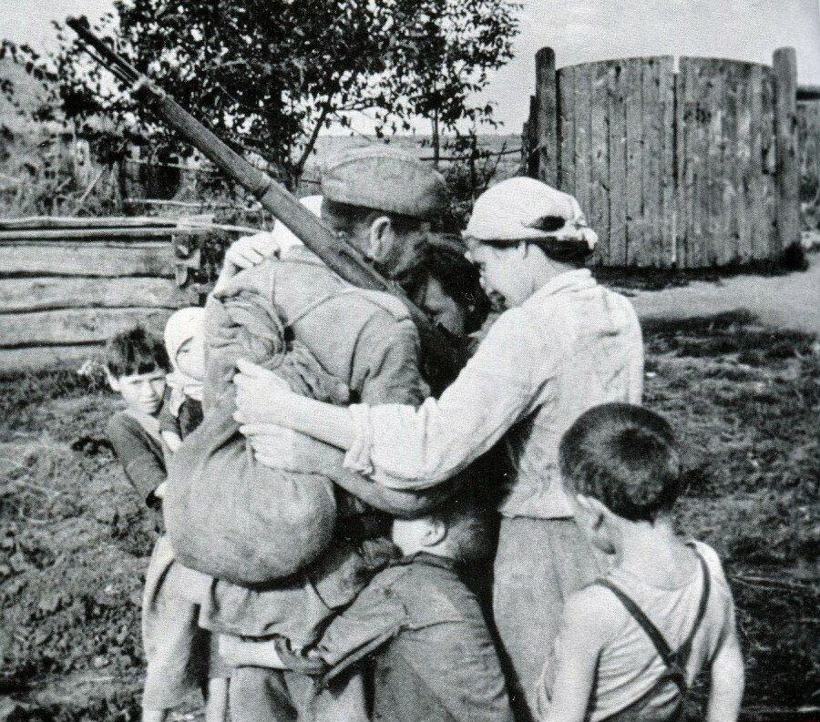 Картинки с войны семьи
