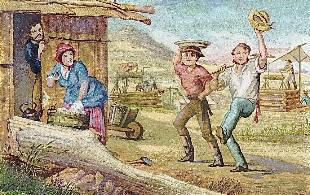 24 января 1848 года началась Калифорнийская «золотая лихорадка»