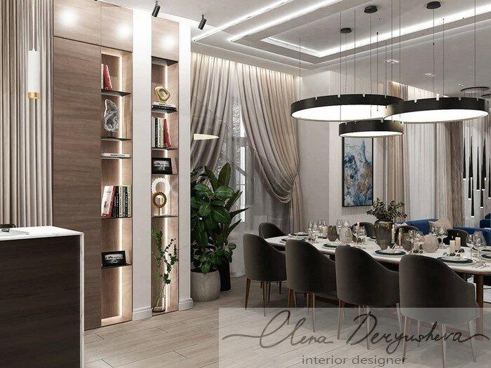 Дизайн проект квартиры г. Воткинск