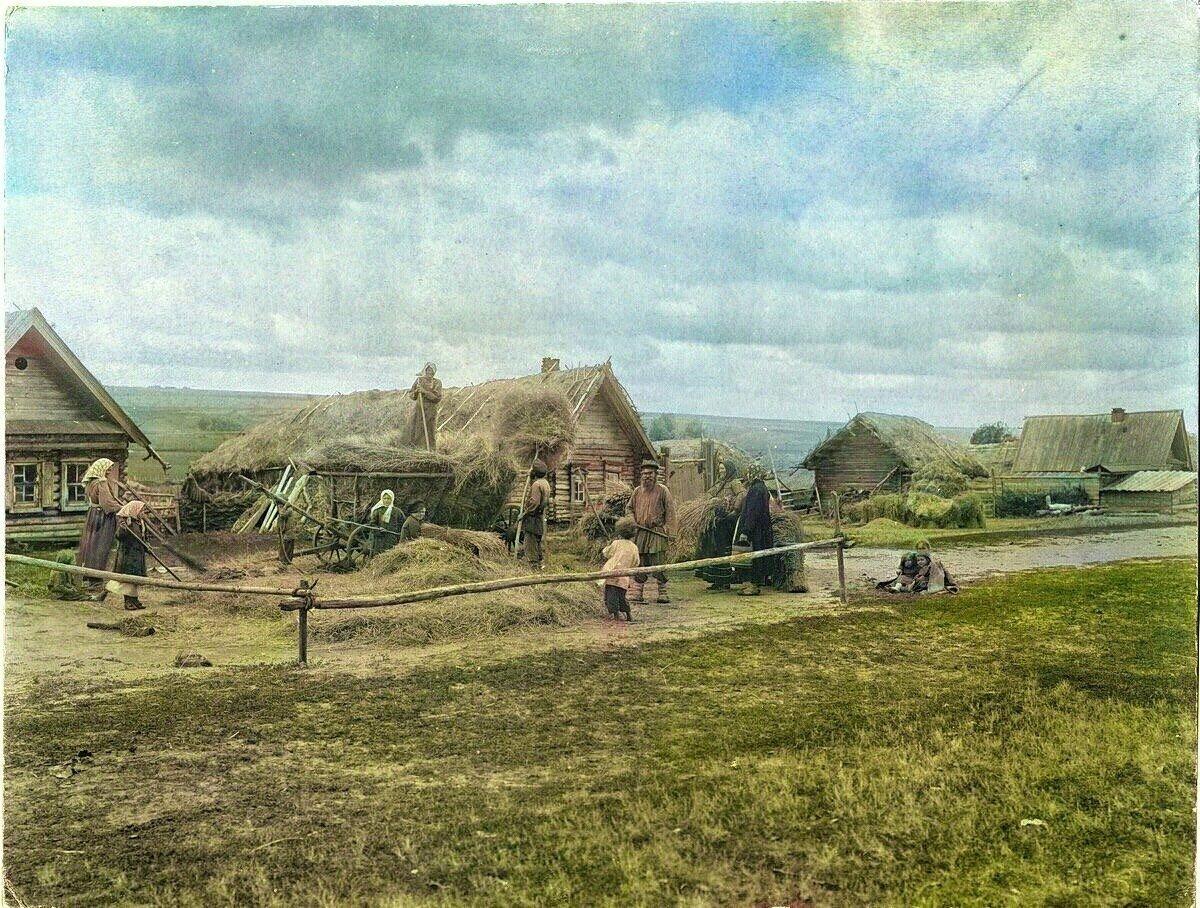 Картинка крестьянская община