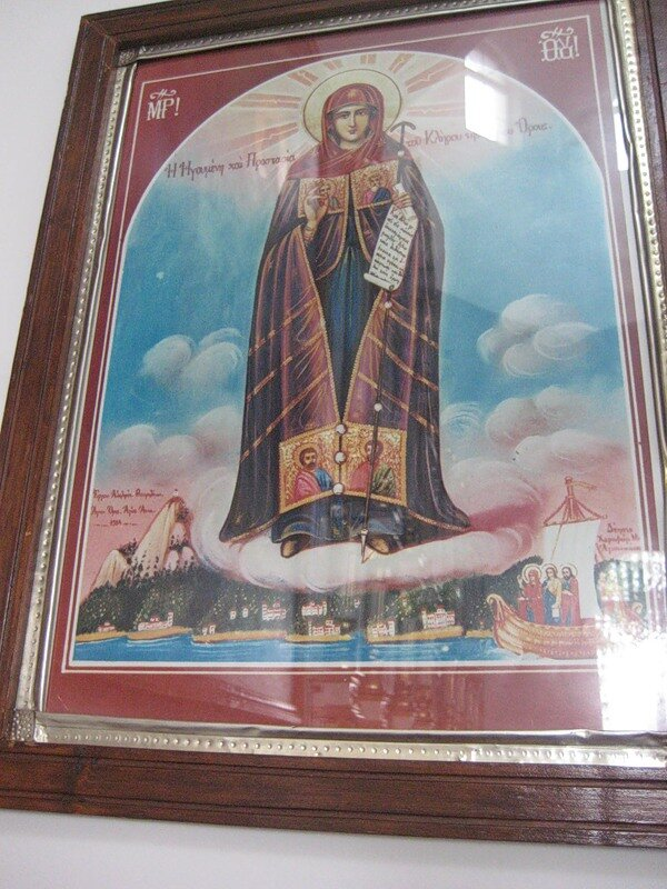 Афон. Лавра святого Афанасия (Великая Лавра)