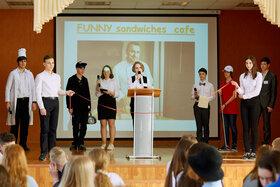 Городской лингвистический турнир в гимназии №38 тольяти. Февраль, 2020