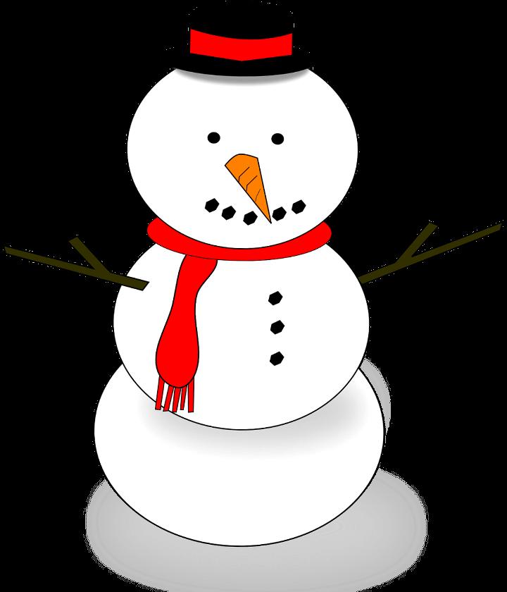 Картинка снеговика шаблон