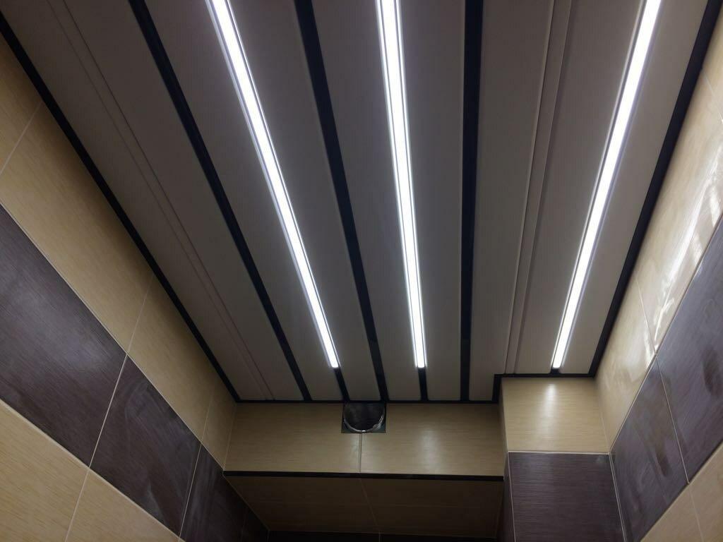 Реечный потолок №54